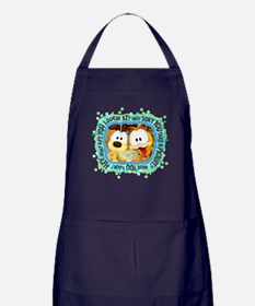 Garfield Goofy Faces Apron (dark)
