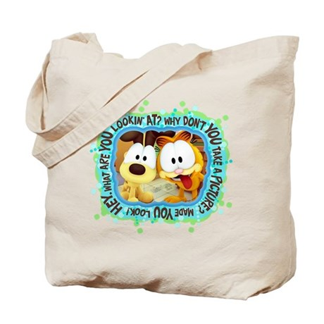 Garfield Goofy Faces Tote Bag
