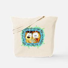 Garfield Goofy Faces Tote Bag