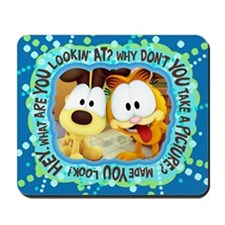 Garfield Goofy Faces Mousepad