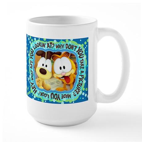 Garfield Goofy Faces Large Mug