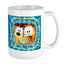 Garfield Goofy Faces Mug