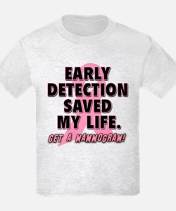 Early Detection Saved My Life T-Shirt