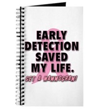 Early Detection Saved My Life Journal