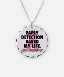Early Detection Saved My Life Necklace