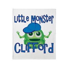 Little Monster Clifford Throw Blanket