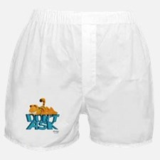 "Garfield ""Don't Ask"" Boxer Shorts"
