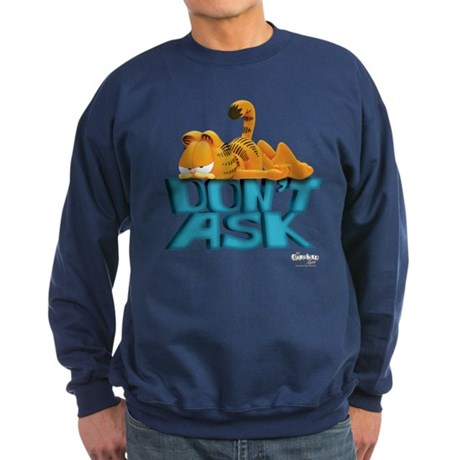 "Garfield ""Don't Ask"" Sweatshirt (dark)"