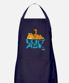 "Garfield ""Don't Ask"" Apron (dark)"