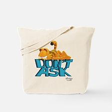 """Garfield """"Don't Ask"""" Tote Bag"""