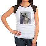 woman Women's Cap Sleeve T-Shirt