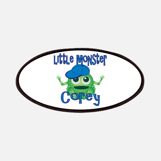 Little Monster Corey Patches