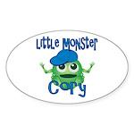 Little Monster Cory Sticker (Oval)