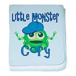 Little Monster Cory baby blanket
