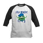 Little Monster Cory Kids Baseball Jersey