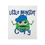 Little Monster Cory Throw Blanket