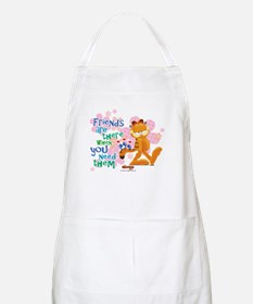 """Friends Are There"" Garfield Apron"