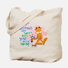 """Friends Are There"" Garfield Tote Bag"