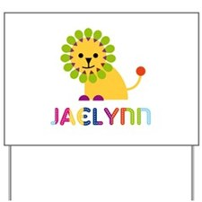 Jaelynn the Lion Yard Sign