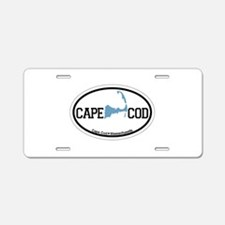 Cape Cod MA - Oval Design Aluminum License Plate