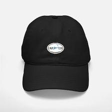 Cape Cod MA - Oval Design Baseball Hat