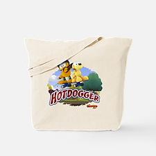 Garfield Hotdogger Tote Bag