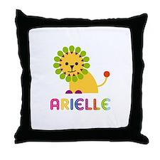 Arielle the Lion Throw Pillow