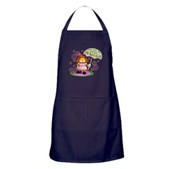 "Garfield ""I'm Adorable"" Apron (dark)"