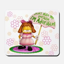 "Garfield ""I'm Adorable"" Mousepad"