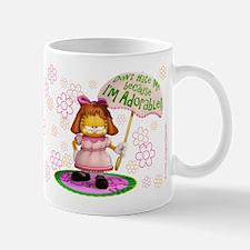 """Garfield """"I'm Adorable"""" Mug"""