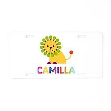 Camilla the Lion Aluminum License Plate