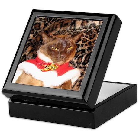 FPG Xmas Cat II Keepsake Box