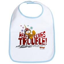 Here Comes Trouble Bib