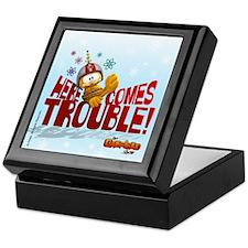 "Garfield ""Here Comes Trouble"" Keepsake Box"
