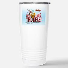 "Garfield ""Here Comes Trouble"" Travel Mug"