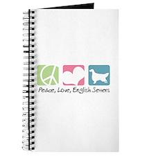 Peace, Love, English Setters Journal