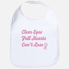 Breast Cancer Clear Eyes Bib
