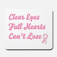 Breast Cancer Clear Eyes Mousepad