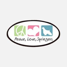 Peace, Love, Springers Patches
