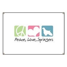Peace, Love, Springers Banner