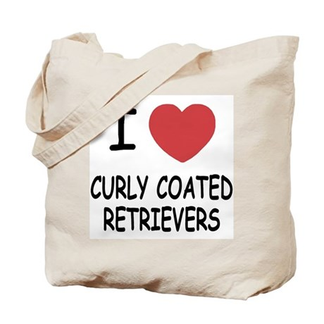 curly coated retrievers Tote Bag