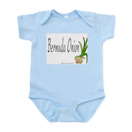 The Bermuda Onion Infant Creeper