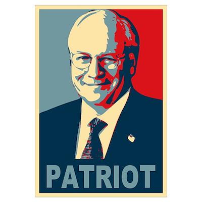 Patriot Cheney Poster