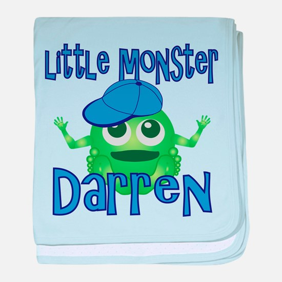Little Monster Darren baby blanket