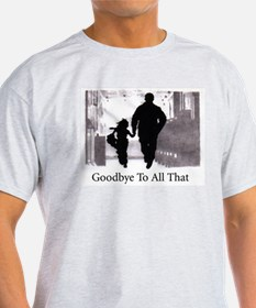 Goodbye To All That Ash Grey T-Shirt