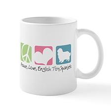 Peace, Love, English Toy Spaniels Mug