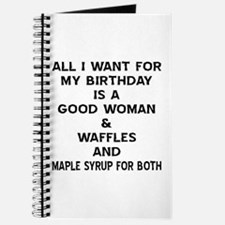 All I Want For My Birthday Journal