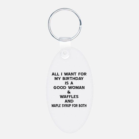 All I Want For My Birthday Keychains