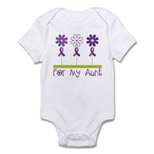 Alzheimers For My Aunt Infant Bodysuit