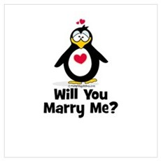 Will You Marry Me? Canvas Art
